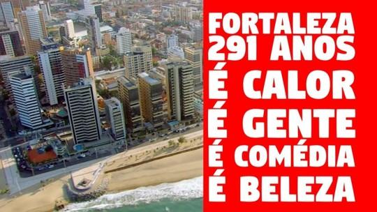Fortaleza completa 291 anos e TV Verdes Mares lança vídeo em homenagem à cidade
