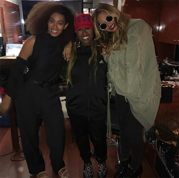 Solange Knowles, Missy Elliot, Beyoncé (Foto: Instagram)