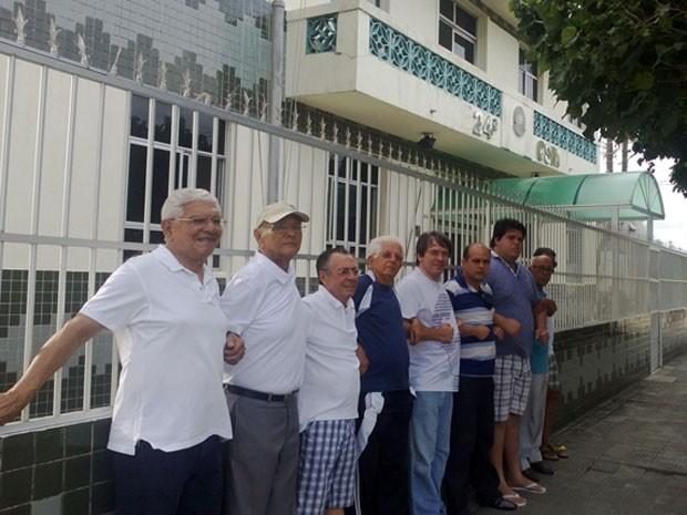 Marcha da Família reuniu nove pessoas neste sábado (22) em Natal (Foto: Fred Carvalho/G1)