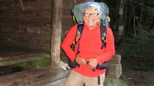 Geraldine Largay sonhava em completar a trilha na costa leste dos Estados Unidos (Foto: Foto de arquivo pessoal cedida pelas autoridades do Maine)