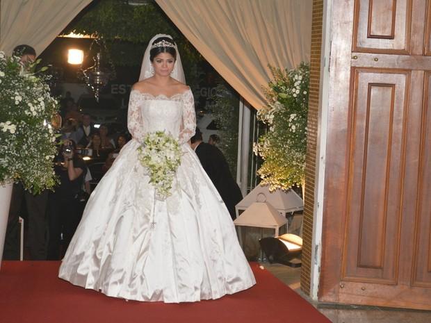 Isabele Temoteo se casa com Xand em Fortaleza, no Ceará (Foto: Felipe Souto Maior/ Ag. News)