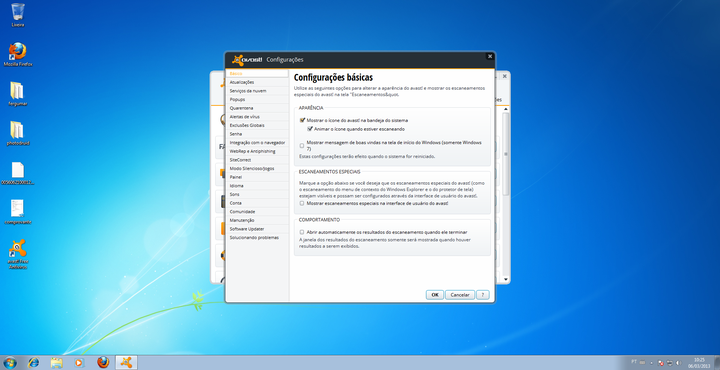 screenshot de avast! Free Antivirus