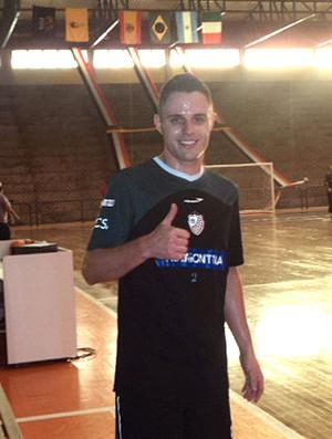 Rodrigo, jogador do Carlos Barbosa de futsal (Foto: Flávio Dilascio / SporTV.com)