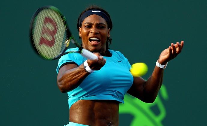 Serena Williams x Zarina Diyas, WTA de Miami, tênis (Foto: Getty Images)