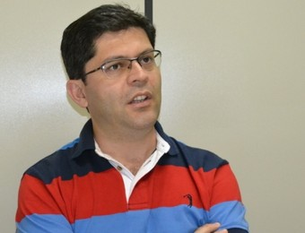 Rafael Gonçalves Mota, diretor Organização Social, São José dos Campos (Foto: Filipe Rodrigues)