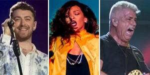 VOTE: Qual foi o melhor show da  6ª noite de Rock in Rio? (Luciano Oliveira/G1)