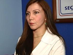 Alberta Riker Oab Santarém (Foto: Reprodução/TV Tapajós)
