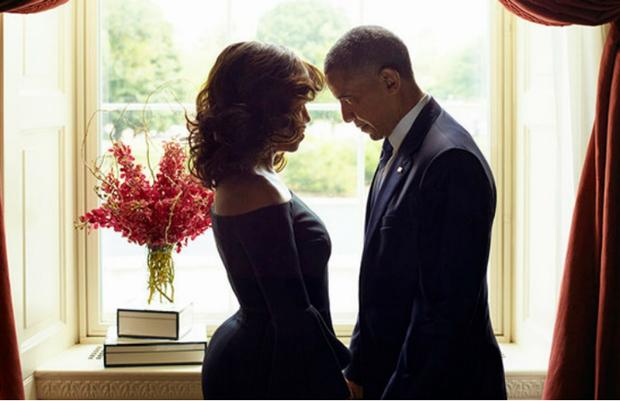 Michelle e Barack Obama (Foto: Reprodução/EssenceMagazine)