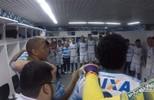 Bastidores da vitória sobre o Grêmio no último domingo