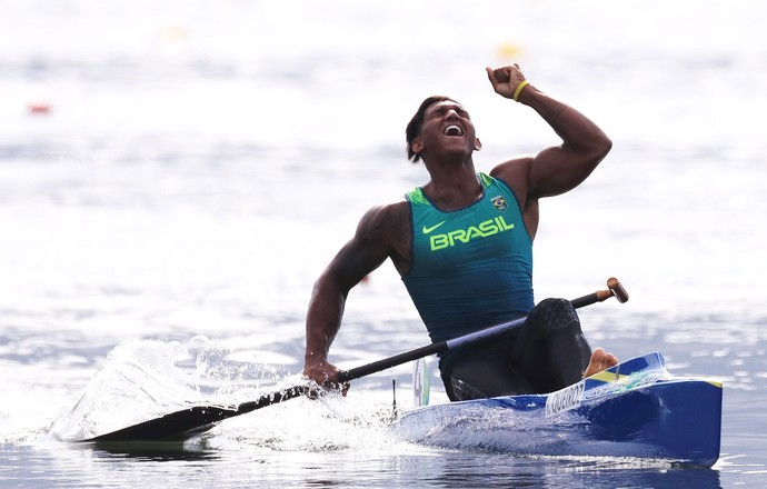 Isaquias Queiroz canoagem olimpíadas (Foto: Agência Getty Images)