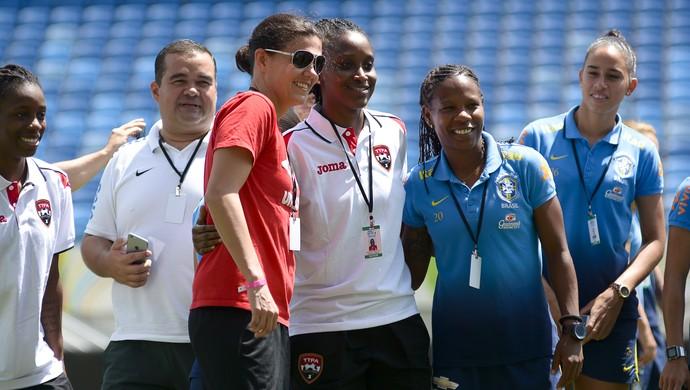 Formiga Torneio Internacional de Futebol Feminino Arena das Dunas (Foto: Vlademir Alexandre/Allsports)