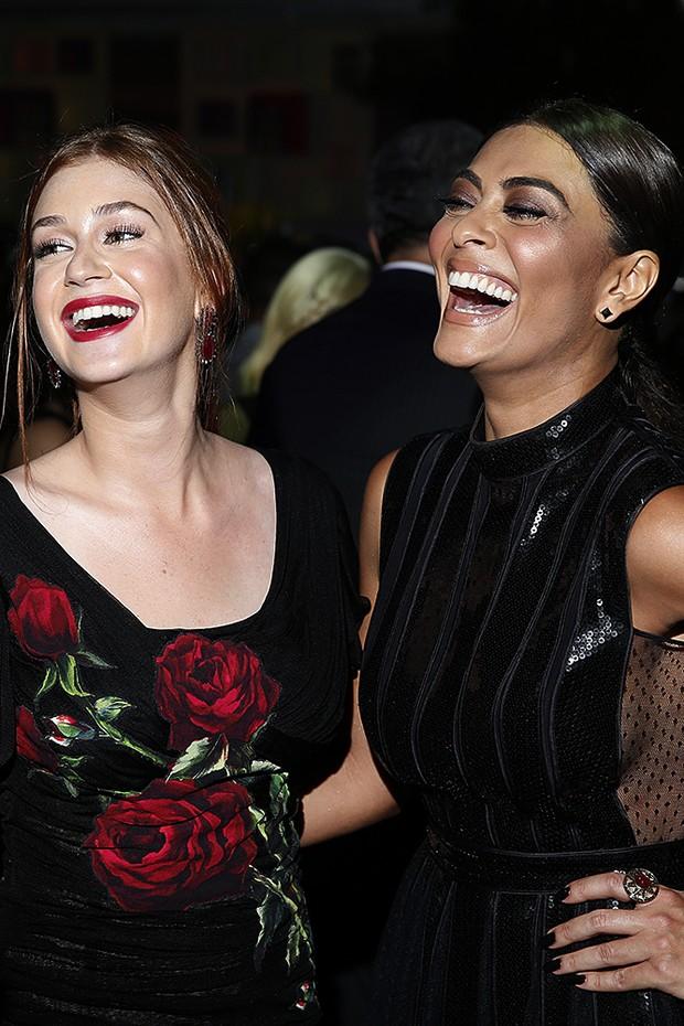 Marina Ruy Barbosa e Juliana Paes (Foto: Marcos Serra Lima / Ego)