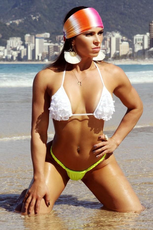 Vívian Cristinelle , Miss Bumbum Minas Gerais (Foto: Divulgação MBB4)
