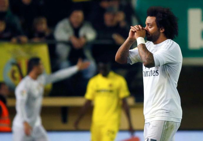 Marcelo Real Madrid Villarreal (Foto: Reuters)