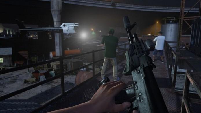 GTA 5 fará uso de algumas funcionalidades do DualShock 4, o controle do PlayStation 4. (Foto: Divulgação)