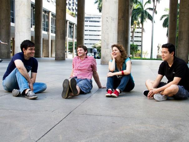 Os 4 sócios do Movere (Foto: Divulgação)