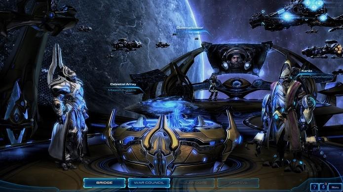 Artanis, Rohana, Karax e Vorazun são alguns dos novos heróis da última campanha de Starcraft 2 (Foto: Divulgação/Blizzard)