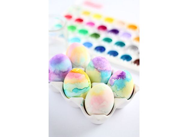 2-decoracao-ovos-de-pascoa-pinterest-aquarela (Foto: Pinterest)