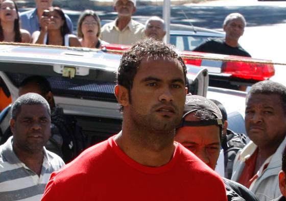 O ex-goleiro Bruno Souza, em 2010 (Foto: Fabiano Rocha / Extra / Agência O Globo)