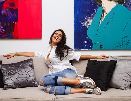Bruna Pietronave já participou de dezenas de novelas, vários filmes e diz que tem se divertido com a paródia da primeira-dama  (Foto: Divulgação)