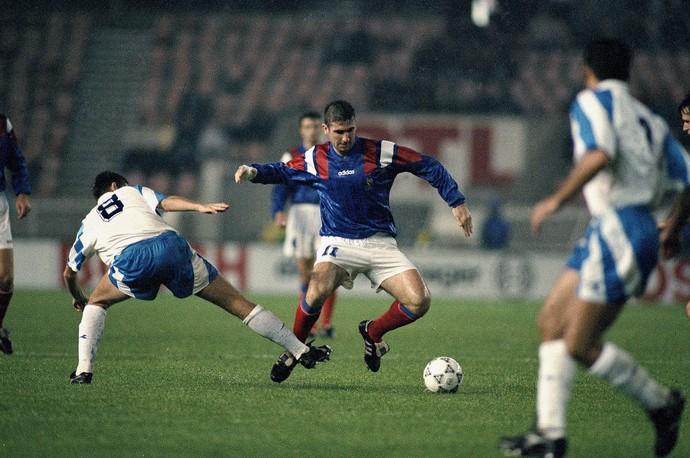 Cantona França 1993 (Foto: AP)