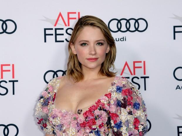 Haley Bennett em première de filme em Los Angeles, nos Estados Unidos (Foto: Kevork Djansezian/ Reuters)