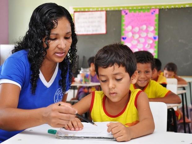Mais de 30 mil alunos voltam às salas de aula nesta quinta-feira (Foto: Reynesson Damasceno/Prefeitura de Boa Vista)