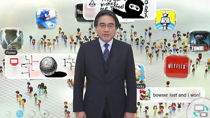 Satoru Iwata, Presidente da Nintendo, faleceu aos 55 anos e recebeu homenagens de vários nomes da indústria (Foto: Reprodução/Game Informer)