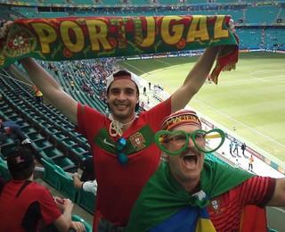 Juvenal Andrade torcedor português Portugal (Foto: Reprodução/ Facebook)