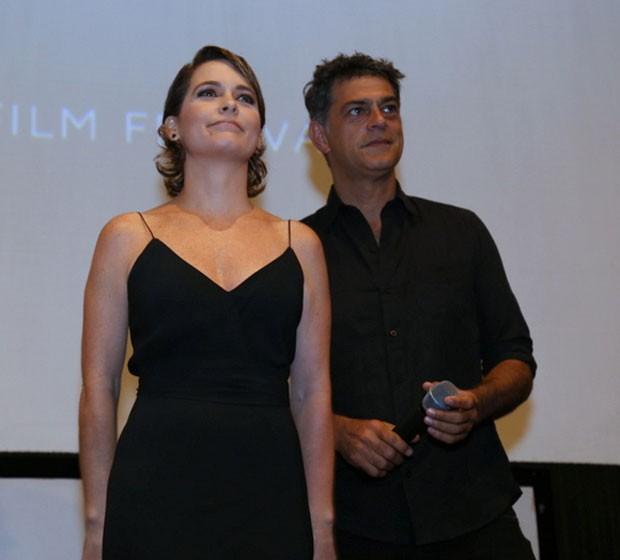 Cláudia Abreu e Du Moscovis (Foto: AgNews / Anderson Borde)