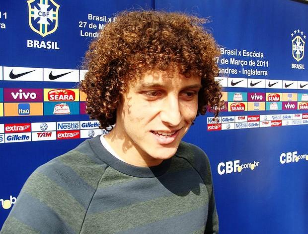 David Luiz Seleção Brasileira (Foto: Marcio Iannaca/Globoesporte.com)