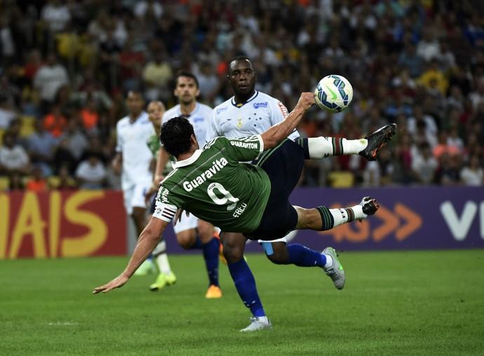 Fred Fluminense x Cruzeiro Maracanã (Foto: André Durão)