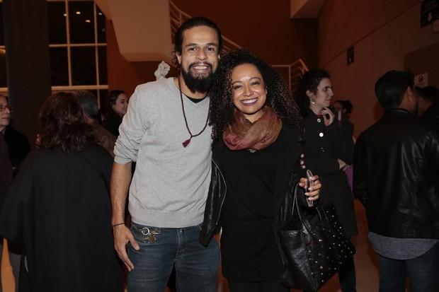 Pierre Bittencourt e Aretha Oliveira (Foto: Rafael Cusato/Brazil News)