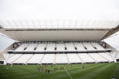 Gramado Arena Corinthians (Foto: Rodrigo Gazanel / Agência Estado)