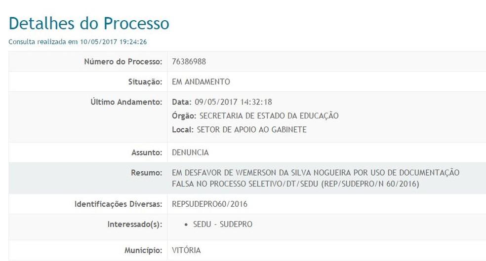 SiteBarra » Professor Wemerson Nogueira é denunciado por suspeita de ... d2f29a1e2a607