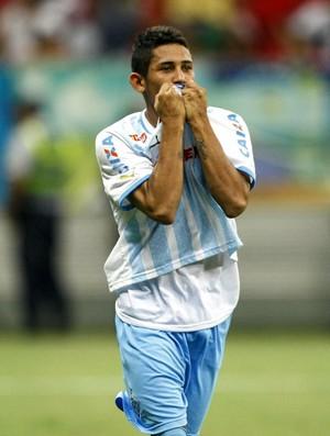 Leandro Carvalho atacante do Paysandu (Foto: Tarso Sarraf/O Liberal)