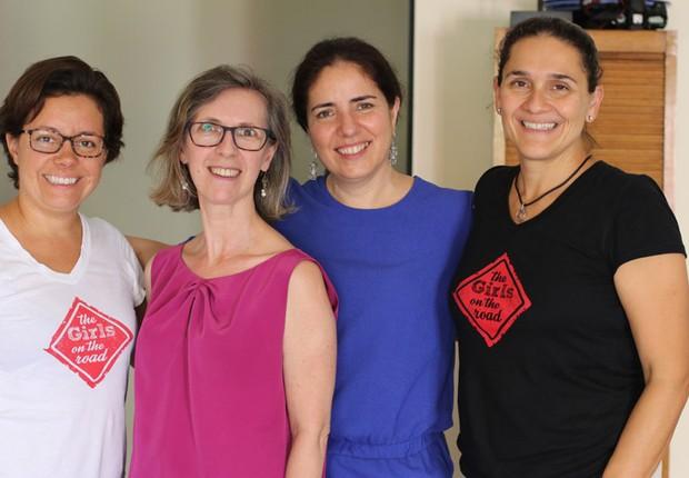The Girls on the Road com Maria Serina e Isabel Canha  Isabel Canha e Maria Serina, fundadoras da Executiva, uma empresa com a missão de trazer mais cooperação e informação sobre o mundo de negócios para mulheres (Foto: The Girls on the Road)