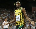 Bolt ''passeia'' tranquilo na eliminatória dos 200m e avança para a semifinal