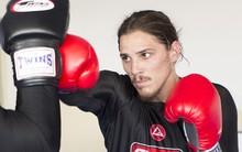 Rômulo Neto abriu  treino de boxe ao Gshow (Felipe Monteiro/Gshow)