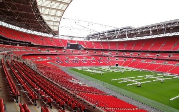 Wembley tour Brasil Mundial FC (Foto: Victor Canedo / Globoesporte.com)