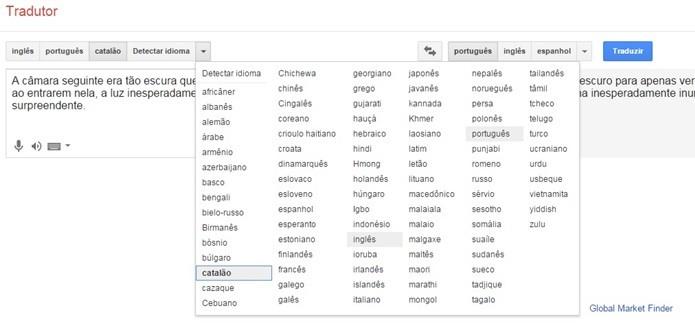 Altere o idioma (Foto: Reprodução/Gabriel ribeiro)