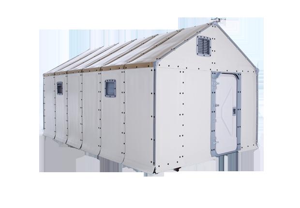 Abrigo para refugiados ganha prêmio de design  (Foto: Divulgação)