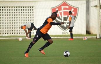 De olho no Vitória da Conquista, Leão faz treino físico e técnico no Barradão