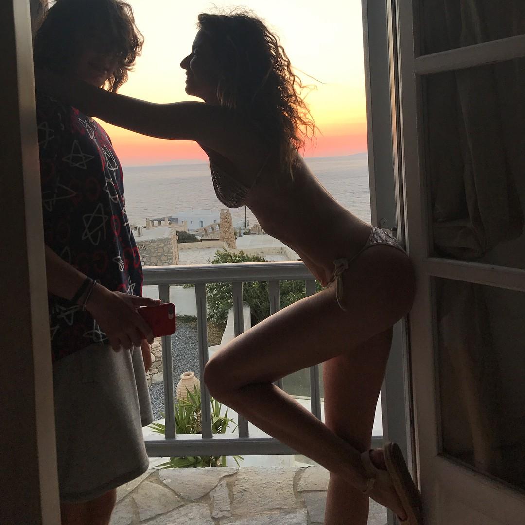 Luciana com Lucas (Foto: Reprodução/Instagram)