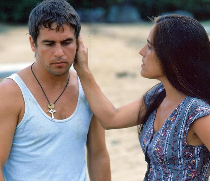 O personagem Tonho da Lua, interpretado por Marcos Frota, também ganhou destaque (Foto: CEDOC/Globo)