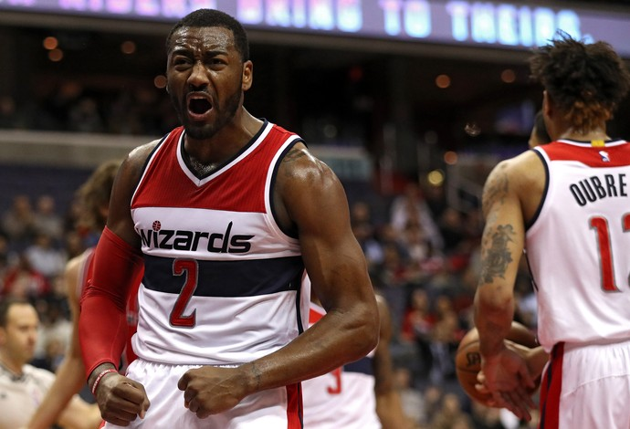 John Wall Washington Wizards x Chicago Bulls NBA (Foto: Patrick Smith/Getty Images)