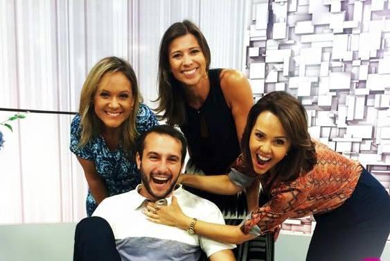 Vida e Saúde traz bate-papo com apresentadores (Foto: Reprodução/RBS TV)