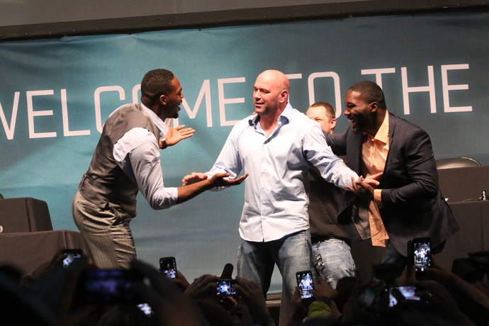 Dana White Jon Jones x Johnson (Foto: Evelyn Rodrigues)
