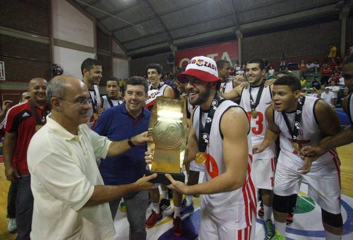 Flamengo campeão da LDB 2013 (Foto: Divulgação/LNB)