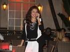 Paloma Bernardi comemora aniversário com amigos famosos